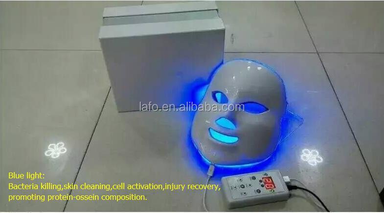 7 Color Led Light Skin Mask Skin Whitening And Lightening