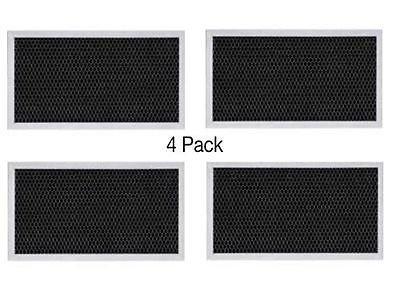 (GARRAG) 4-PACK GE COMPATIBLE RANGE HOOD CHARCOAL CARBON FILTER WB2X9883 JX81A CF2888