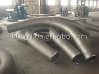 astm a234 wpb/wpc 45 degree carbon steel bend butt welding/ pipe fittings
