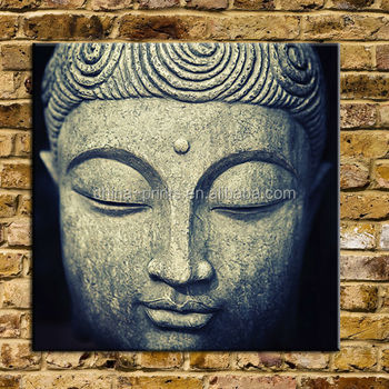Large Buddha Painting Wall Decor Canvas Arts With Frame 40\