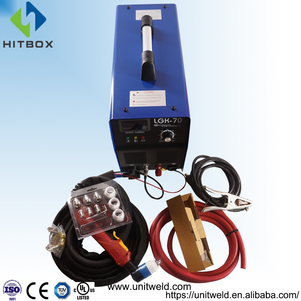 HITBOX cnc plasma cutting machine plasma cutter cut 70 jasic igbt inverter welding machine