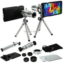 Free Shipping/For Samsung Galaxy S5 I9600 4 in 1 Camera Lens Kit:Four Awesome Lenses Awesome Accessories and Attachments