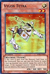 Yu-Gi-Oh! - Vylon Tetra (HA06-EN005) - Hidden Arsenal 6: Omega Xyz - 1st Edition - Super Rare