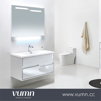 Vumn Rotating Mirror Cabinet 1000 Mm French Bathroom Furniture