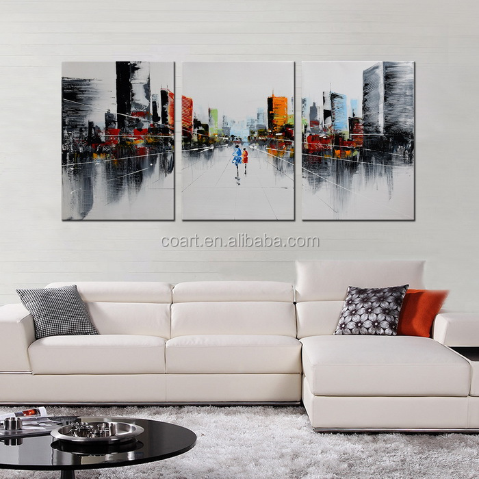 Handmade Large Canvas Wholesale Oil Painting