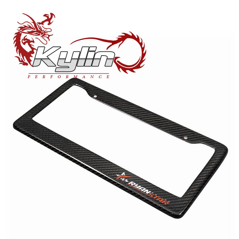 Kylin Racing high quality carbon fiber Licence frame