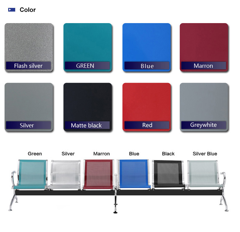 HOT NEW Furniture Stainless Steel Price Airport Chair Waiting Chair For Sale SJ820