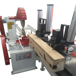 Automatic Double Blades Circular Sawmill Machine Wood Working Small Log Board Cutting