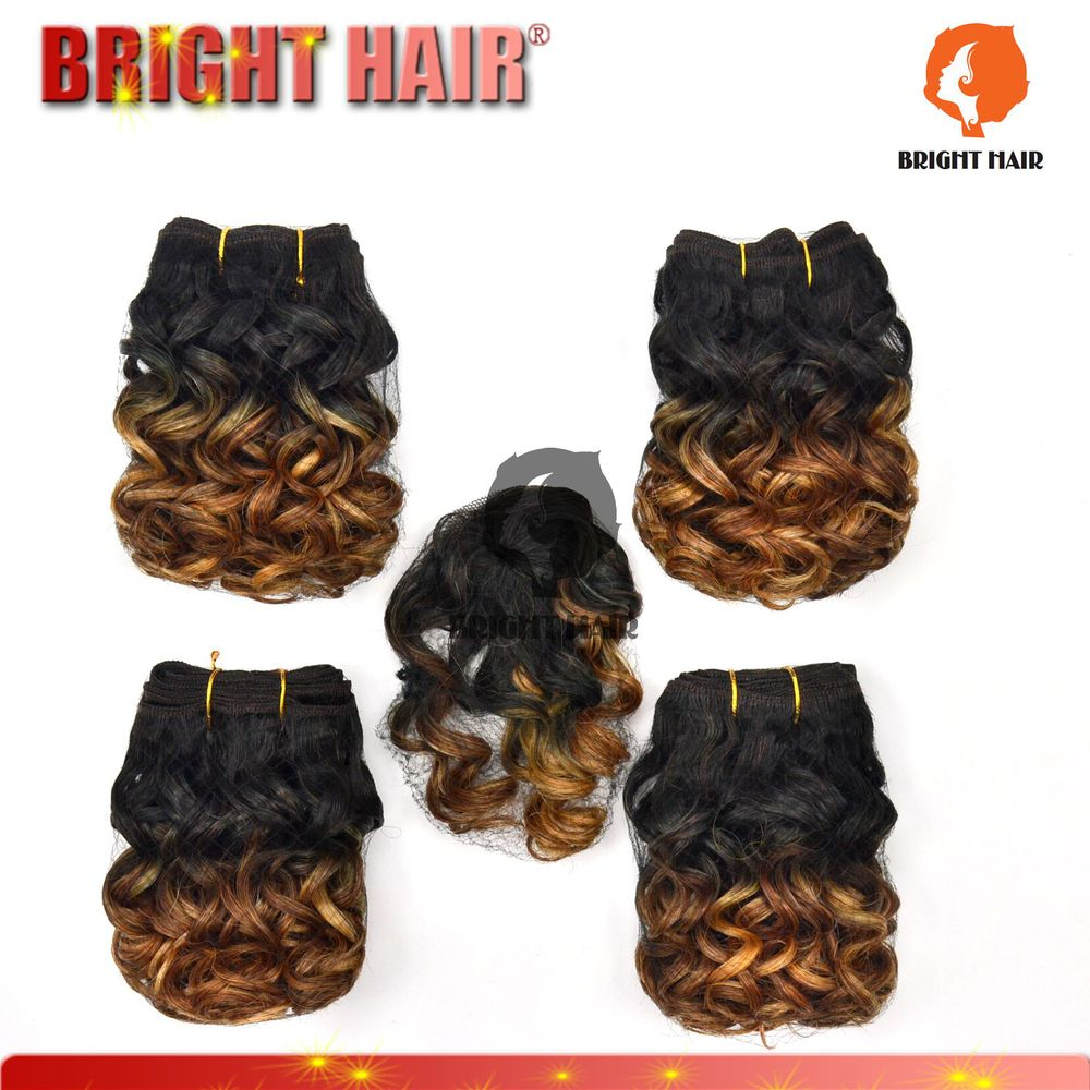New style Qingdao hot sell hair products synthetic curler hair with Hair Closure 5pcs