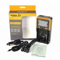 Boruit LCD Smart Charger AA 3A 26650 22650 18650 Li-on 3.7v Two Slot Universal Battery Charger