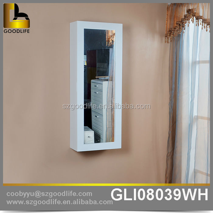ironing center in home wall mounted wooden cabinet ironing board mirror