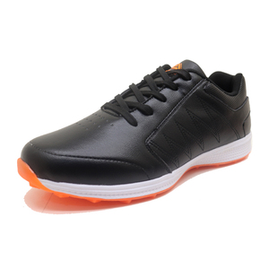 2019 new arrival luxury korea oem custom cheap leather handmade rubber ladies mens golf shoes