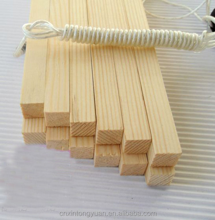 triangle wood strips wood timber DIY solid wood line