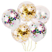 Wholesale 12 inch round confetti balloon for wedding favor party decorations