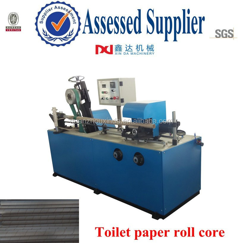 Automatic Kraft Toilet Paper Roll Core Maker Machine - Buy Toilet ...