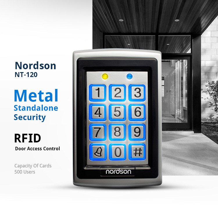 stable quality EM card Metal Aluminum Alloy digital electronic lock 13 56Mhz Rfid Reader password door access control system