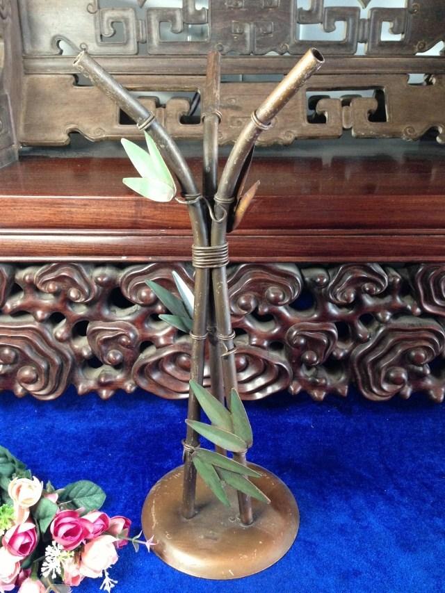 Используется 7044 сплава стабильно высокое бамбук ремесла рефлюкс старый европейский коллекция произведений искусства подарок