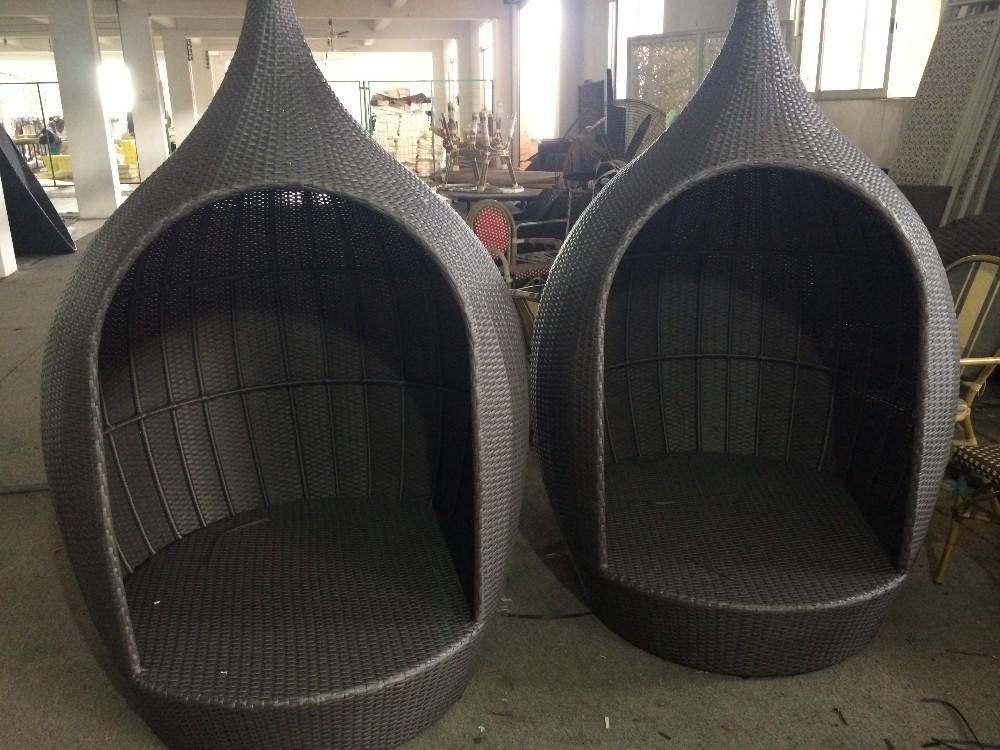 modernes design outdoor wicker pe rund rattan lounge sessel mit wasserdichte polster rattan. Black Bedroom Furniture Sets. Home Design Ideas