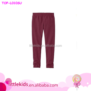High Quality Girls Leggings Children Harem Jogging Pants Solid Color Kids Girls Pants