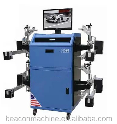 High quality cheap BC-H528 3d wheel alignment and balancing machine for sale with Wireless Bluetooth
