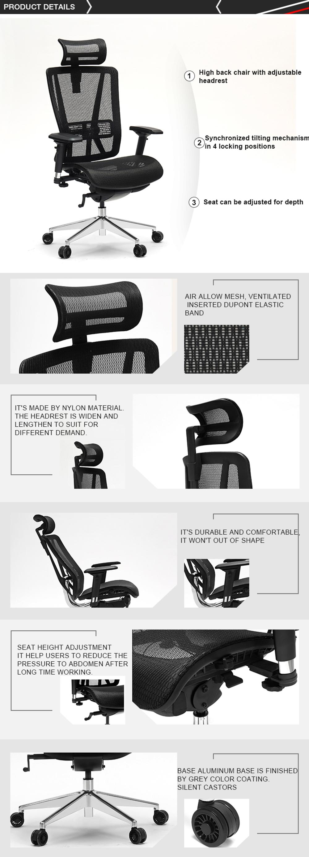 Luxury comfortable high back executive chair office chair for Office of the President