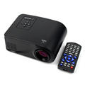 New Full HD 1080P 80 Lumens Portable Proyector Mini LED Projector HDMI AV VGA SD USB