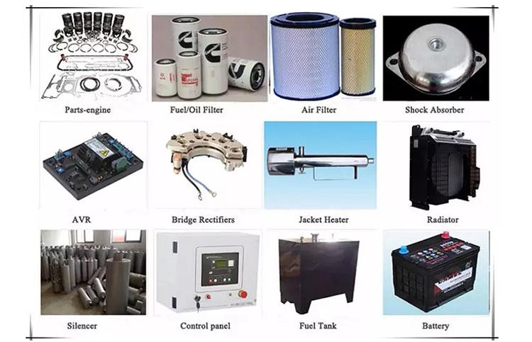 तेजी से वितरण 600kva डीजल जनरेटर खुले फ्रेम औद्योगिक Grupo Generador कीमतों