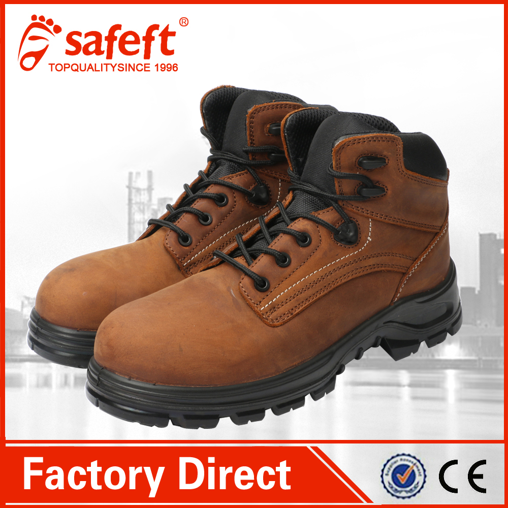 petrol resisant export lab action pu injection safety shoes/work boots