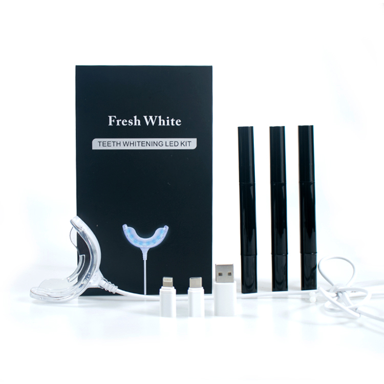 Tanden Whitening Orale Gel Kits 35% Peroxide Bleken Mondhygiëne Care Tools Tooth Whitener met LED Licht