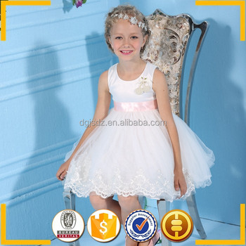 White Party Dresses For 8 Year Old Girls Baby Girl Princess Dresses ...