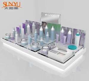 Custom Plastic Cosmetic Make Up Skin Care Display Stand