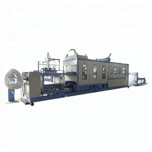 Small Type Plastic Tray Vacuum Thermoforming Machine