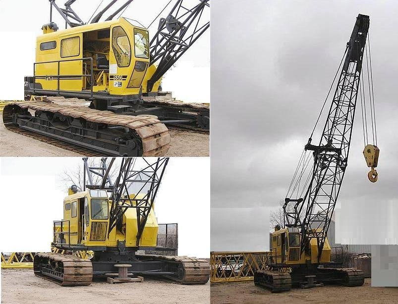 P&H 550 CRAWLER CRANE.
