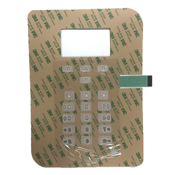 Free Sample 3M Adhesive Waterproof Membrane Switch