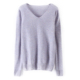 Wholesale girl computer knitted cashmere yarn sweater