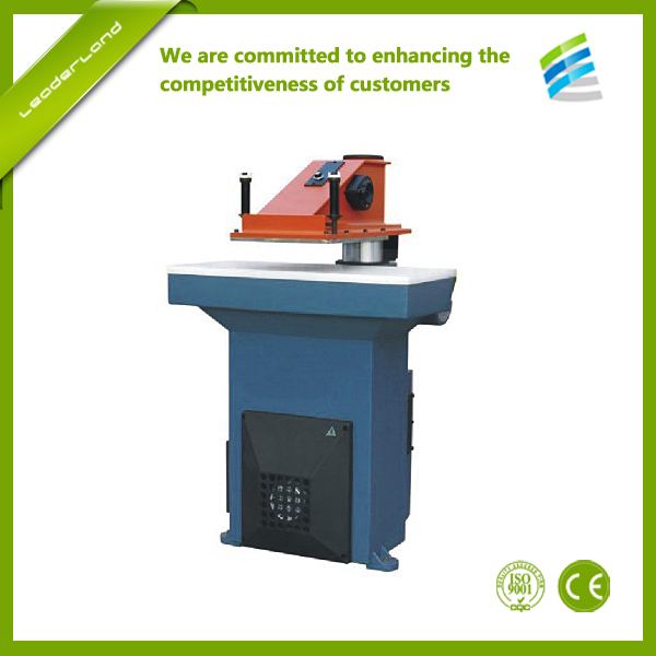 Hydraulic Swing Arm atom cutting press machine/ Leather clicking press machine