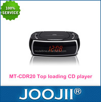 Portable CD Boombox Player With PLL FM Radio, Clock, LED display