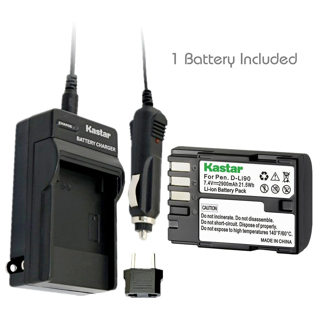 BATTERY FOR PENTAX K-01 ACCU