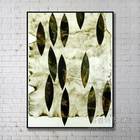 Modern Metal Leaf Wall Art