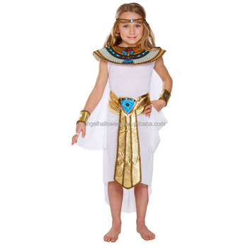 9254803e679 Egyptian Girl Queen Childrens Kids Fancy Dress Costume Cleopatra AGQ2051