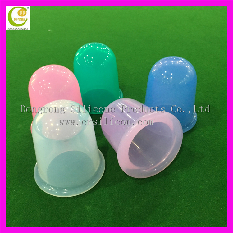 Eco-friendly <strong>Health</strong> Care Body Massage Helper Home Safe Convenient Silicone Cupping Cup magnetic body massager