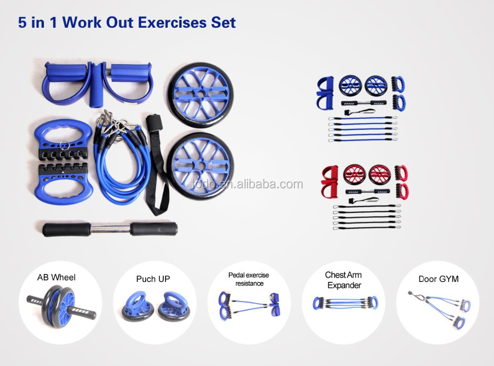 Complete Body Exerciser Resistance Bands Kits