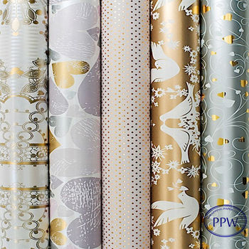 ROLLS OF LUXURY CHRISTMAS / BIRTHDAY WRAPPING PAPER