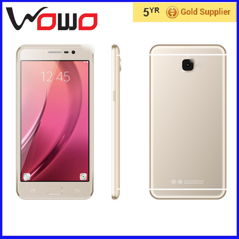 C7 5.5inch big touch screen android phone quad core 1G RAM 8G ROM 5.0mp camera high quality