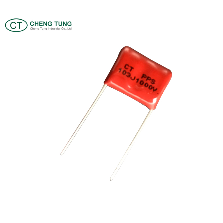 High voltage polypropylene PPS film foil capacitor passive component
