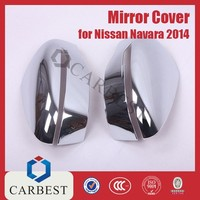 High Quality New ABS Chrome Side Mirror Cover Chrome Mirror Cover for Navara 2014