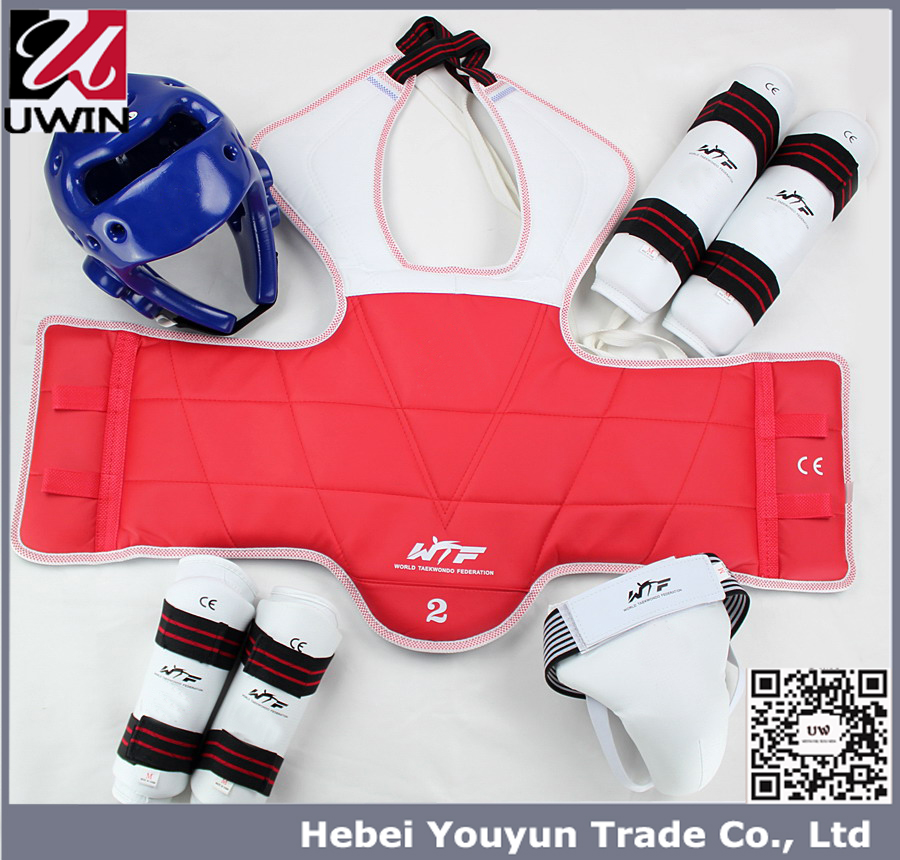 Taekwondo protective Equipment all set , karate safety guard equipment for sale