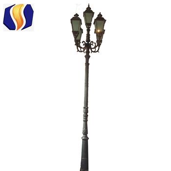 3 Arm Decorative Garden Lighting Pole Light