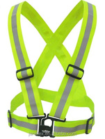 KwikSafety High Visibility Running, Cycling, Biking, Walking, and Outdoor Reflective Belt, Safety Vest