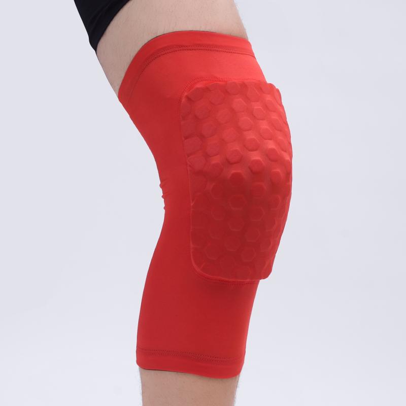 High Quality Honeycomb Knee Brace and Anti-collision Honeycomb Basketball Knee Pad, Protective Knee Brace фото